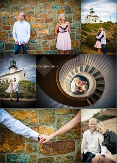 Lighthouse engagement shoot. Think my fave is actually the hands clasped in front of the beautiful bricks.
