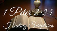 1 Peter 2:24 - Healing Scriptures Healing Scriptures, Bible Verses, 1st Peter 2, Gods Promises, Praise God, Faith In God, God Is Good, Word Of God, Jesus Christ
