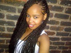 Cute Hairstyles For Black Teenage Girls Black Hairstyles For Teens, Teenage Hairstyles, Little Girl Hairstyles, Child Hairstyles, Hairstyles Pictures, School Hairstyles, African Hairstyles, Long Twist Braids, Braids With Weave