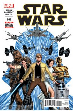 Get your first full look at Marvel's 'Star Wars' #1!