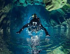 Cave diving, would love to try!