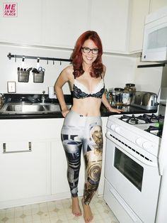 Meg Turney wins best leggings on Me In My Place award.