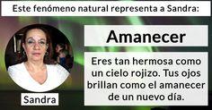 ¿Qué fenómeno natural eres?