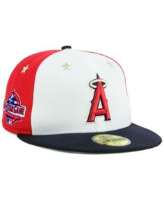 9a9a5d1c287 New Era Boys  Los Angeles Angels MLB All Star Game Patch 59FIFTY Fitted Cap  2018 Men - Sports Fan Shop By Lids - Macy s