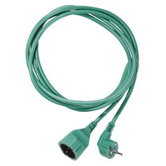 Green extension cord by Johtoi.