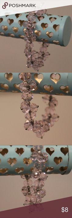 Sparkly Light Pink Bracelet Pink, Sparkly Jewelry Bracelets