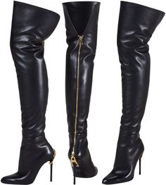 leather thigh high boots - Google Search very cheap at aliexpress.