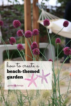 Opposites attract, or so they say, and that is never more evident than in a beach themed garden. Somehow the sand, seashells, and other natural elements of the beach compliment the vibrant color and lush green foliage of a backyard setting. Mixing the two together isn't as difficult as you may think! Whether you live near the beach or are miles from the nearest ocean wave, read on as eBay shares some tips on building the perfect beach-themed garden space right in your own back yard.