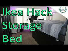 The Ikea Hack Bed   YouTube