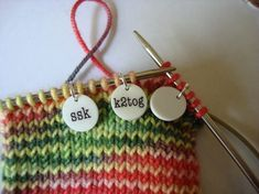 girl on the rocks decrease stitch markers
