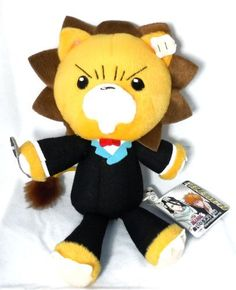 Bleach: Kon in Suit Plush Toy (Banpresto) by Banpresto, http://www.amazon.com/dp/B000IKU0ES/ref=cm_sw_r_pi_dp_UqB1rb0W0ZT6Y