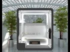 Fold-Out Room: 12 Ultra-Compact Living Pods & Systems Office Cube, Office Pods, Massage Room Design, Tiny House Hotel, Sleep Box, Capsule Hotel, Built In Furniture, Cube Design, Dome House