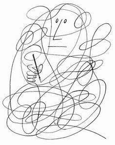 Typetoy illustration by Saul Steinberg. Saul Steinberg, Art Graphique, The New Yorker, Modern Graphic Design, Line Drawing, Line Art, Illustrations Posters, Art Drawings, Illustration Art