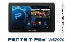 BSNL Penta T-Pad WS707C Tablet Price & Specs 2013 Read more here: http://www.techmero.com/2013/02/bsnl-penta-ws707c-t-pad-price-tablet-specs/