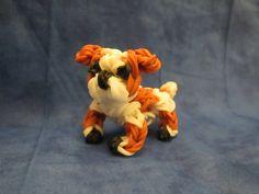 Rainbow Loom English Bulldog Charm tutorial by Lovely Lovebird Designs. Dog or Puppy 3-D