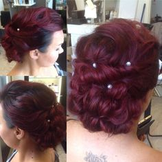 #hairdo #hairpic #hiukset #hairbyme #hairlife #finpaka #kaaso #kampaus #häät #work #curlyhair #wedding #maidofhonor #haircolor #longhair #behindthechair #hairbrained #updo #pearl #fashion #juhlakampaus #wavyhair