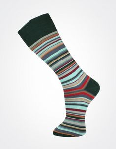 Effio X Effio Bloom of Life - Glorious no.716 #Men #Fashion #Socks #Stripes #Green