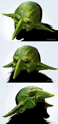 Goblin mask by DenisPolyakov on DeviantArt