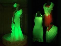 One Japanese lab is hard at work producing glow in the dark silk. But the soft skeins aren't treated after the silk worms have spun their lot, but instead are being produced directly from a cast of genetically engineered worms. Instead of traditional off-white fibers, the special silk worms spew out fluorescent hues of red, orange and green, which can be turned into usable, wearable fabrics.