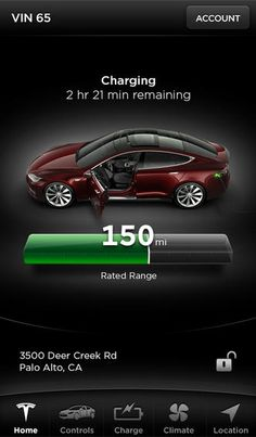 teslas model s app is 9to5macs best iphone application of 2013