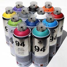 Montana MTN 94 Spray Paint 400ml Popular Colors Set of 12 Graffiti Street Art Mural Aerosol Paint Main Set 1 $89.99