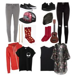 Josh Dun and Tyler Joseph by addictwithnofrens on Polyvore featuring polyvore fashion style T By Alexander Wang Dorothy Perkins Hue Converse Vans NARS Cosmetics women's clothing women's fashion women female woman misses juniors