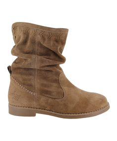 Another great find on #zulily! Taupe Aranda Suede Boot by Coolway #zulilyfinds