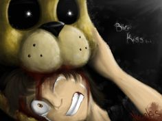 Big kiss/bite of 87 - five Nights at Freddy's 4 by NicoleTheBluePony on DeviantArt