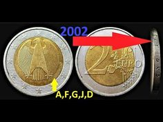 Euro Währung, Old Coins, Silver Coins, Germany, Personalized Items, Youtube, Coins, Detector De Metal, Accessories