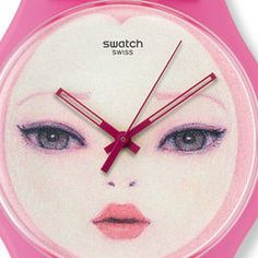 Swatch watch [Thanks, my dearest Verona! I want this <3 <3 <3 cuteeee]