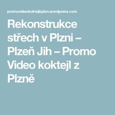 Rekonstrukce střech v Plzni – Plzeň Jih – Promo Video koktejl z Plzně