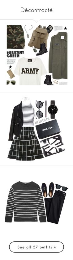 """""""Décontracté"""" by patricia-lachat-burkhalter ❤ liked on Polyvore featuring MANGO, NLST, Avenue, Wild & Wolf, Brunello Cucinelli, Yves Saint Laurent, Lanvin, Essie, Tiffany & Co. and Ally Fashion"""