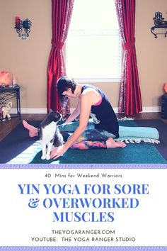 In this practice, we gently stretch and release soreness in the entire body. Feel the tension melt away...