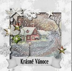 Christmas And New Year, Merry Christmas, Winter Wonderland, Ladder Decor, Snow Globes, Decoupage, Animation, Home Decor, Cards