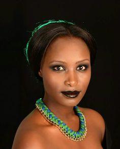African Bride: Algerian Neck Piece