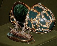Fabergé egg. Russian, made from 1885-1917.