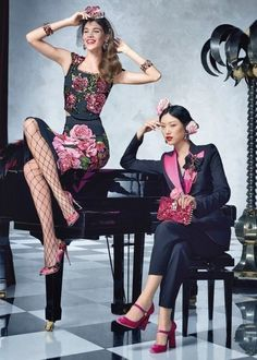 Alta Costura: LookBook de Dolce & Gabbana primavera-verano 2017 ❤️❤️