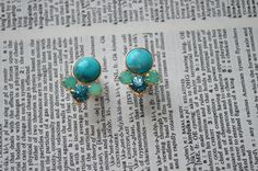 Hey, I found this really awesome Etsy listing at http://www.etsy.com/listing/158591205/turquoise-stone-cluster-plugs-sizes
