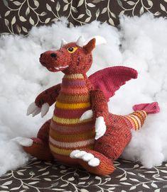 Ravelry: Dragomir the Dragon pattern by Liz Wray