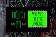 Free fonts Dooodleista