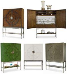 Lotus Bar Cabinet by Century Furniture