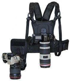 Micnova Carrier II Multi Camera Carrier Photographer Vest with Dual Side Holster Strap for Canon Nikon Sony DSLR Camera Dslr Photography Tips, Photography Equipment, Photography Timeline, Photography Tutorials, Photography Business, Nature Photography, Camera Equipment, Photo Equipment, Camera Case