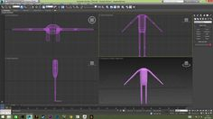 first attempt modelling veepees in 3ds max - 4