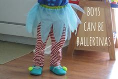 boys can be ballerinas, too.... gender cliches debunked: - Chris Park