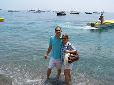 had to step in the Mediterranean Sea!   Sorrento, Italy