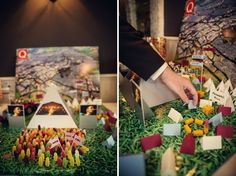 Karl and Kate got engaged at Glastonbury Festival in 2011 and so their May wedding was inspired by their favourite event. Wedding Images, Wedding Themes, Wedding Decorations, Table Decorations, Festival Chic, Festival Wedding, Magical Wedding, Wedding Day, Dream Wedding