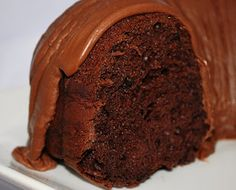 Kenzie's Kitchen: Chocolate Chocolate Cake