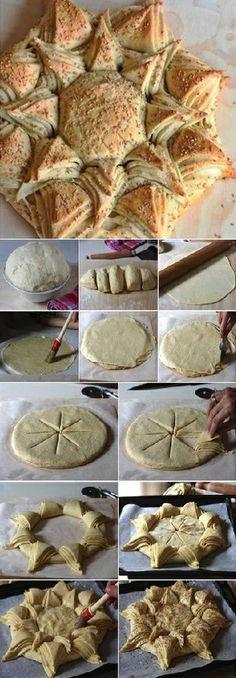 DIY Delicious Star Shaped Bread