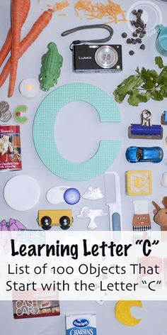 """Sly Spoon: Toddler A-Z - 100 Objects That Start with the Letter """"C"""""""