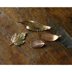 4 Copper Dipped Real Leaves, for Jewelry, Fall Decor, Art Supply,... (29 BGN) ❤ liked on Polyvore featuring home, home decor, fall home decor, copper home decor, copper home accessories, leaf home decor and autumn home decor